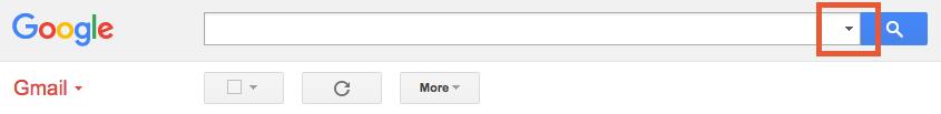Gmail Search Input