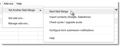 mail merge add-on email parser