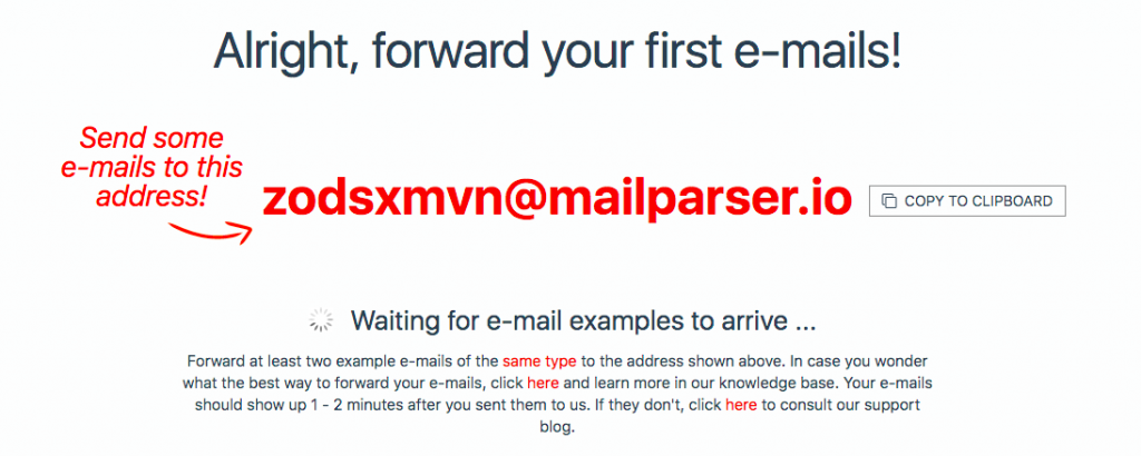 How to Parse Data from Excel with Mailparser Email Address