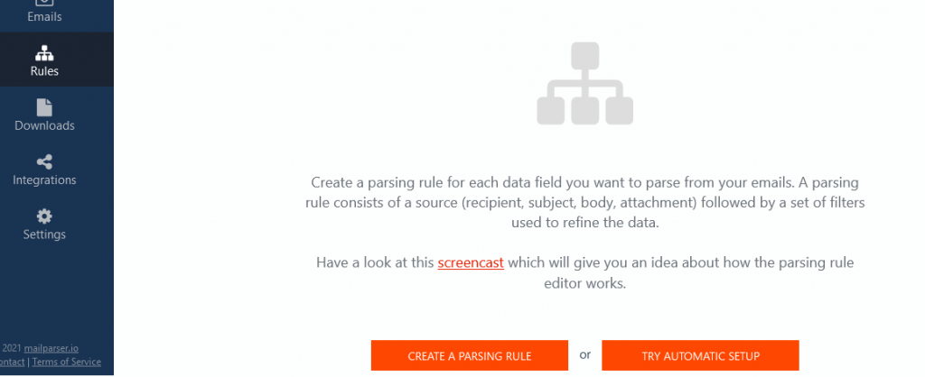 How to Parse Data from Excel Create a Parsing Rule